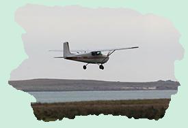 Transporte en avioneta a Isla Mocha